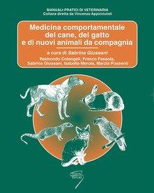 Copertina del loibro Medicina Comportamentale del Cane e del Gato di Raimondo Colangeli